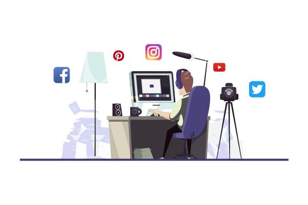 التدوين الاحترافي في وسائل التواصل الاجتماعية